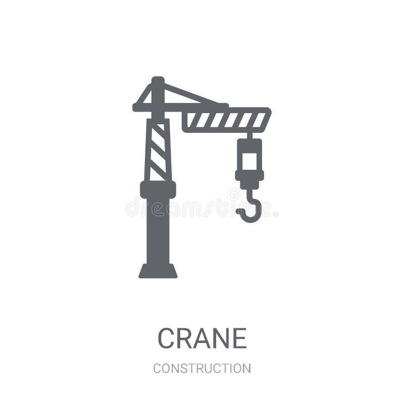 Crane Icon  lizenzfreie abbildung
