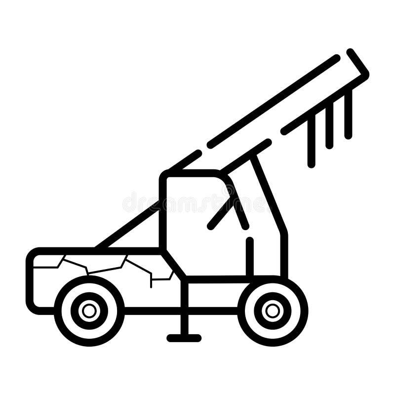 Crane Icon Vector ilustración del vector