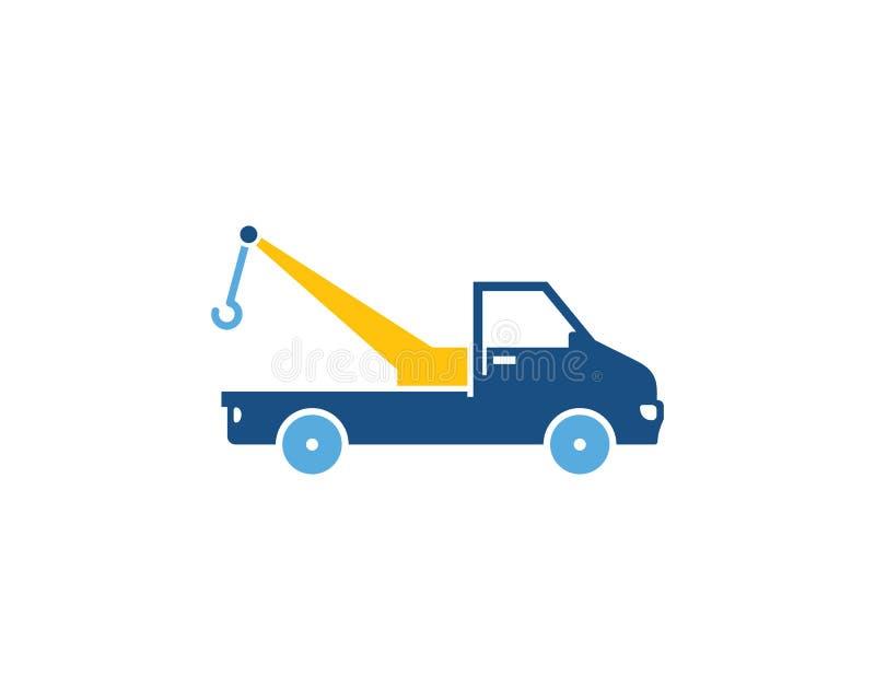 Crane Logistic Logo Icon Design ilustração royalty free
