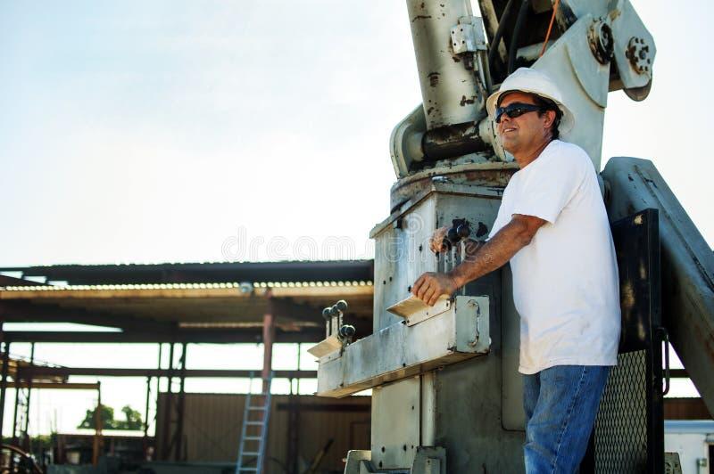 Crane Operator imagens de stock