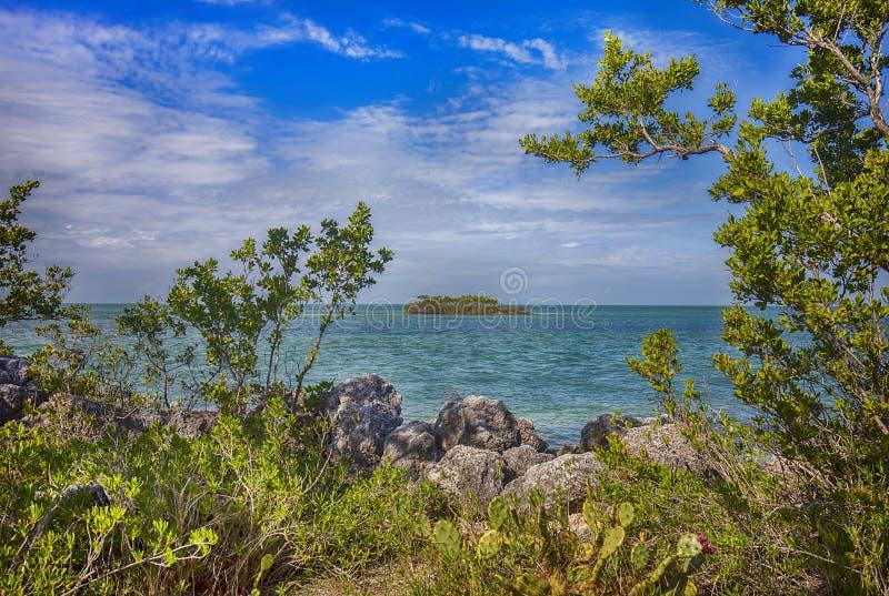 Crane Point dans le marathon, clés de la Floride photo stock