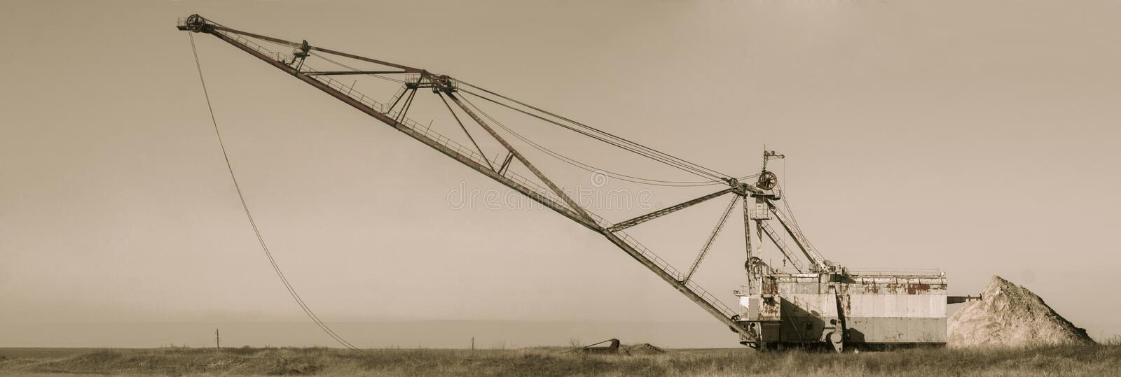 Crane royalty free stock images