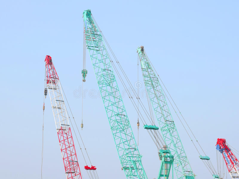 Download Crane and sky stock image. Image of mobile, heavy, industrial - 23093131
