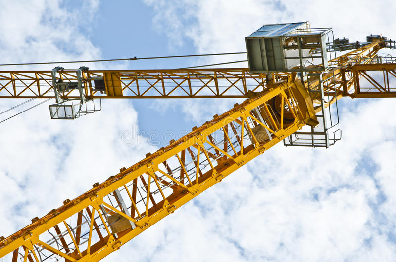 Download Crane structure stock image. Image of blue, frame, steel - 26139205