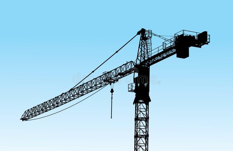 Crane tower stock photo