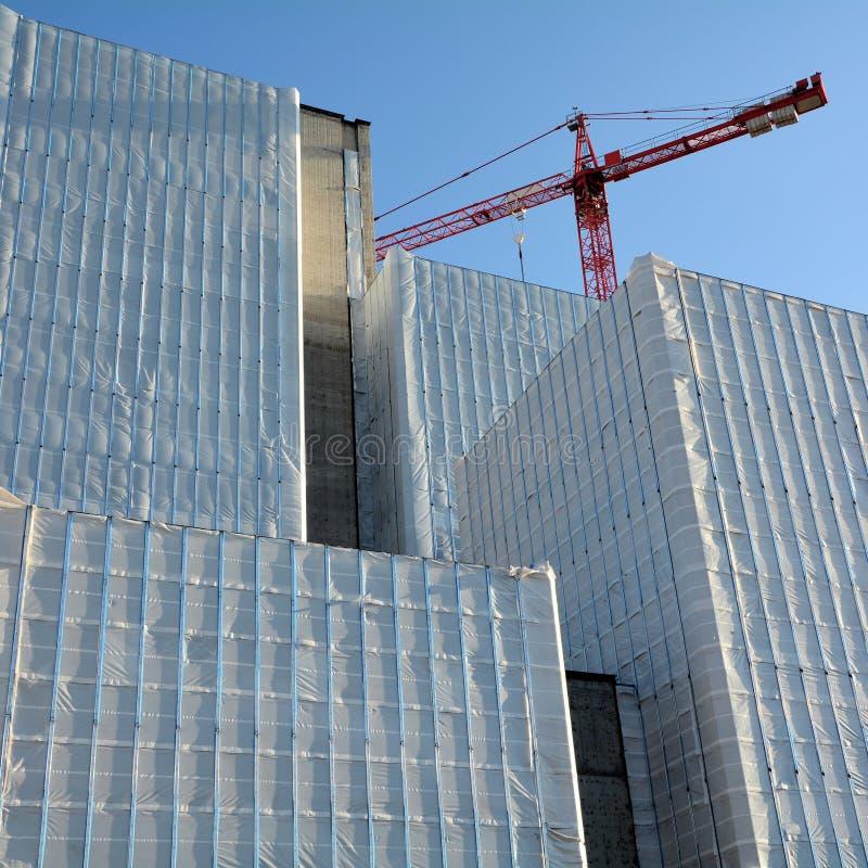 crane wieże fotografia stock