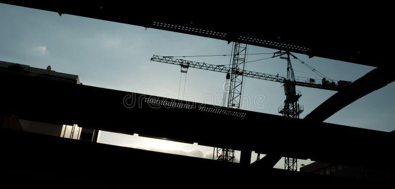Download Cranes stock image. Image of reel, thai, truss, black - 20725985
