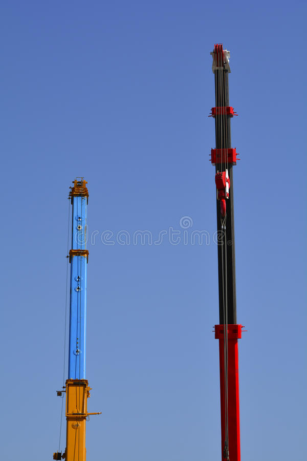 Download Cranes stock image. Image of mobile, construction, hydraulic - 34389375