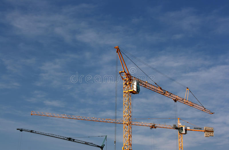 Download Cranes Up The Sky Stock Photos - Image: 22400513
