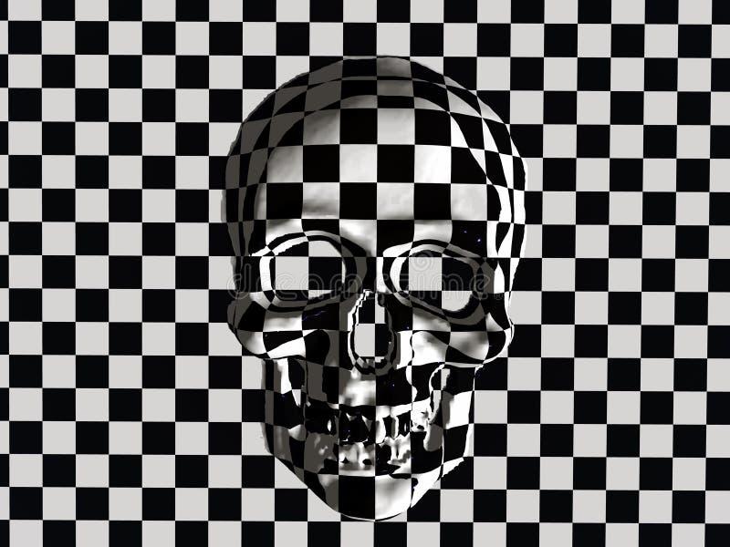 Cranio. royalty illustrazione gratis