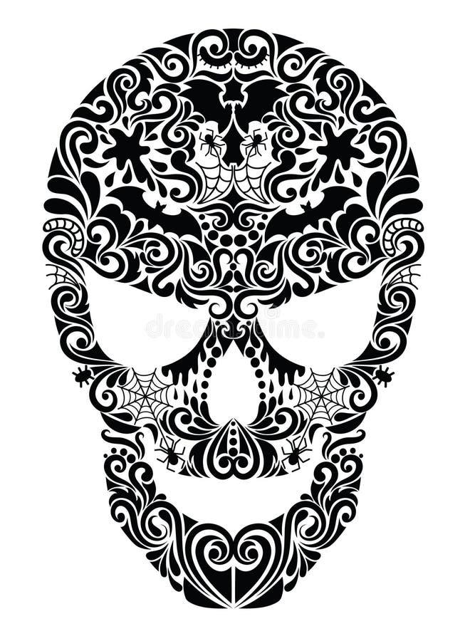 Cranio. illustrazione vettoriale