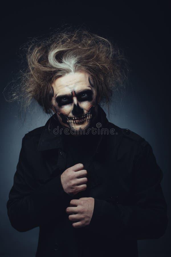 Cranio di Halloween immagine stock libera da diritti