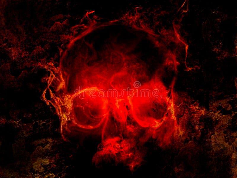 Cranio diabolico royalty illustrazione gratis