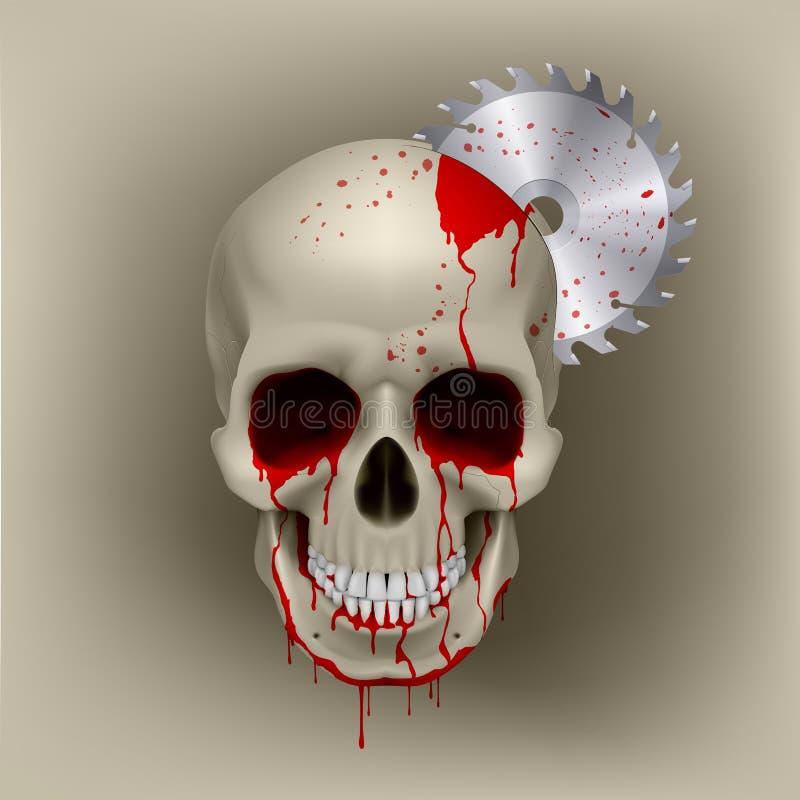 Cranio morto royalty illustrazione gratis