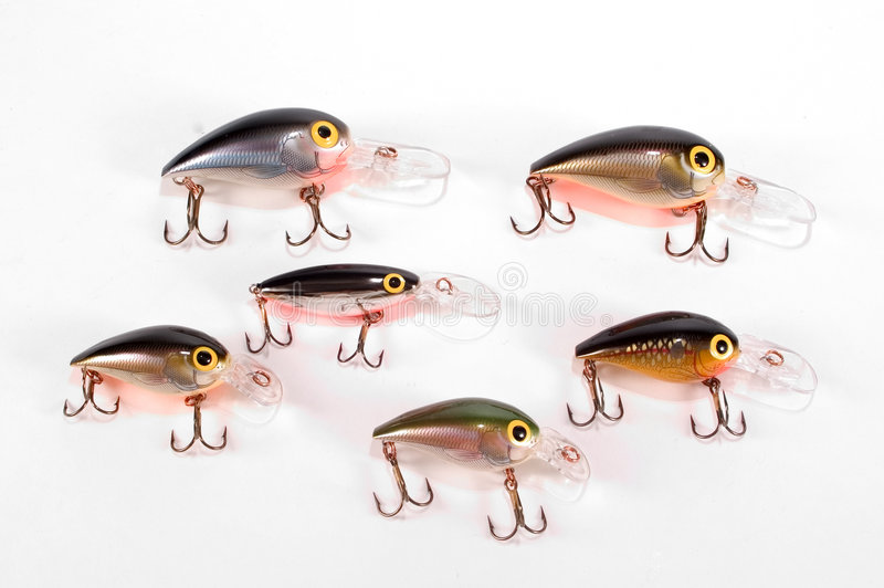 Download Crank Baits stock photo. Image of fishing, lures, bass, bait - 33456