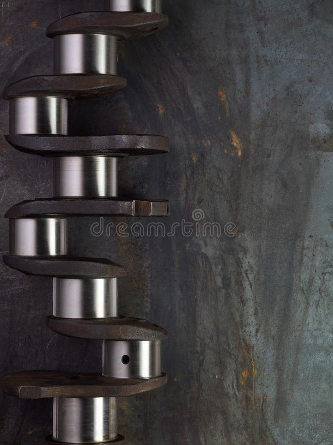 crankshaft foto de stock royalty free