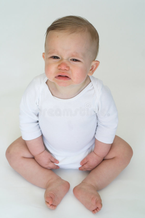 Download Cranky Baby stock photo. Image of bare, grimace, baby - 2412670
