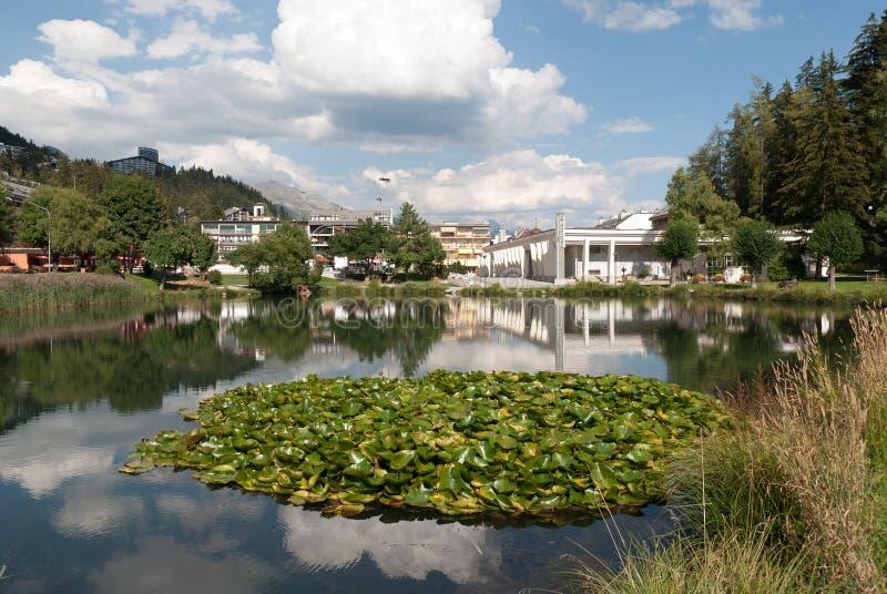 crans λίμνη Μοντάνα μικρή στοκ φωτογραφία με δικαίωμα ελεύθερης χρήσης