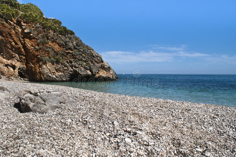 Capreria de Cala, Sicile, Italie image libre de droits