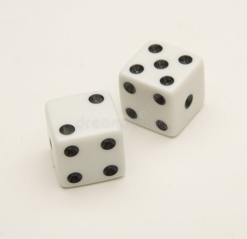 Craps royalty free stock images
