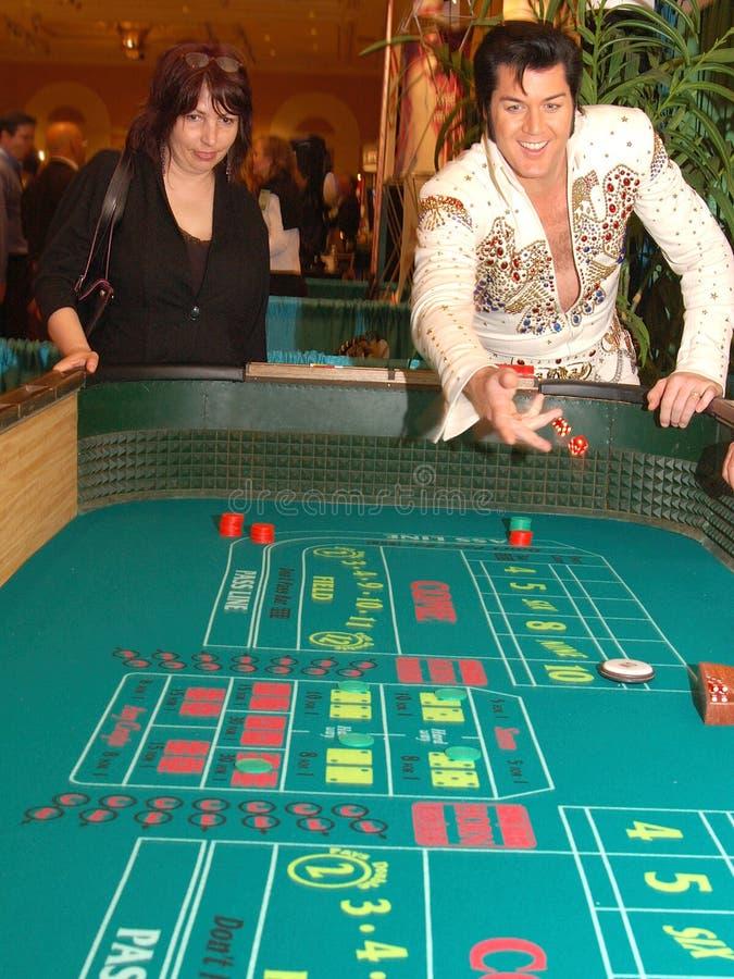 Craps met Elvis 6 royalty-vrije stock foto's