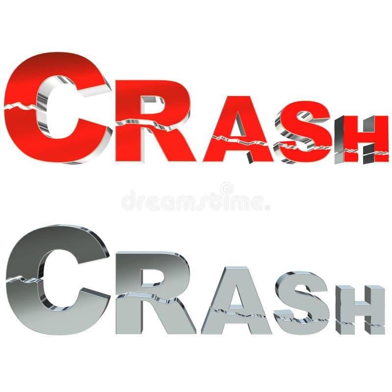 Download Crash 3D stock illustration. Image of chart, render, crack - 6765053