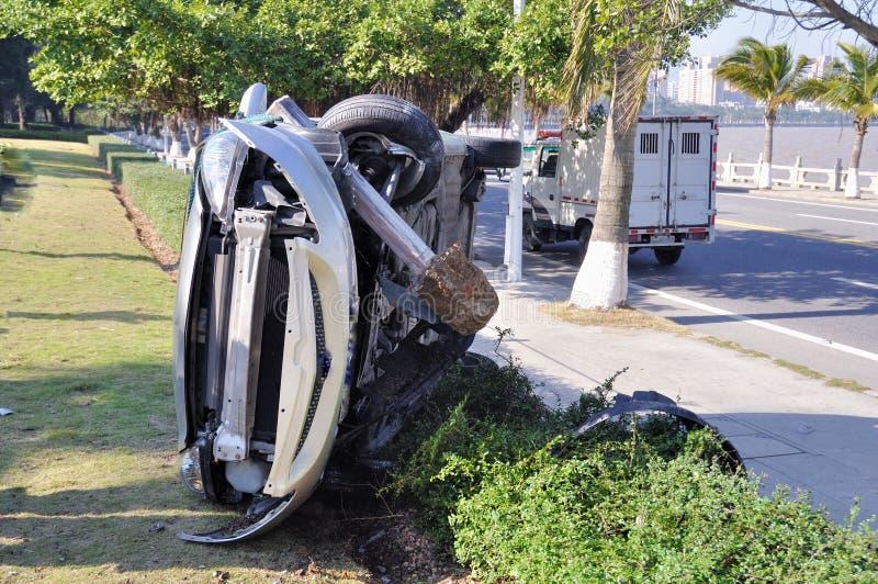 Crash d'accidents de véhicule image stock