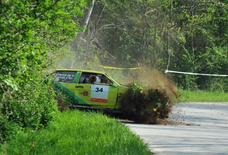 Crash de Samara de Lada photos stock