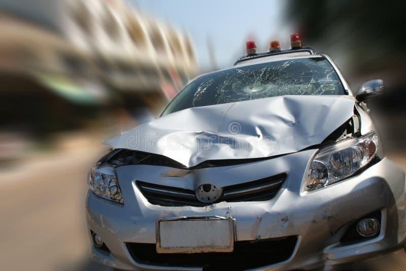 Crash de véhicule photo libre de droits