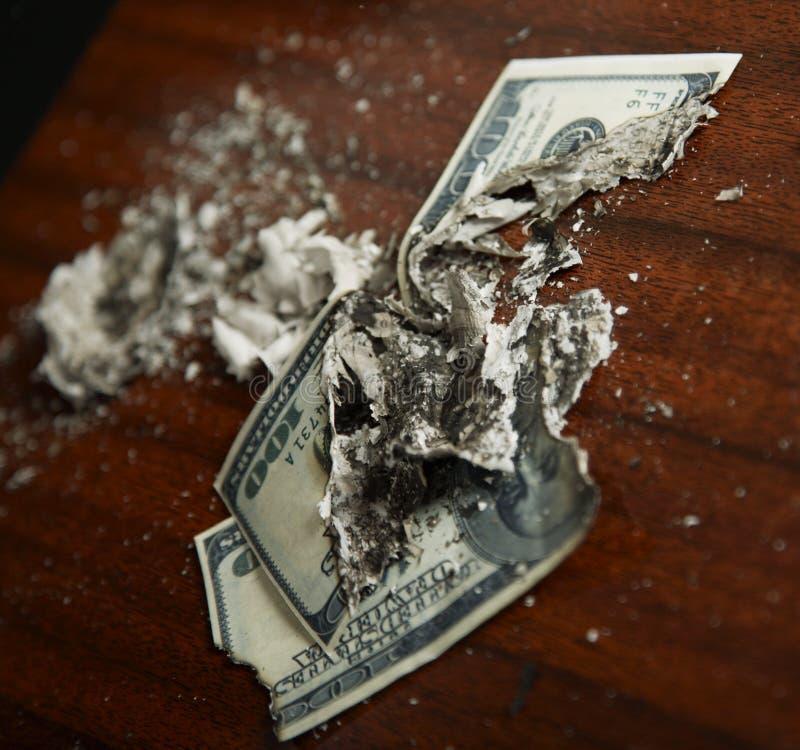 Crash financier photographie stock