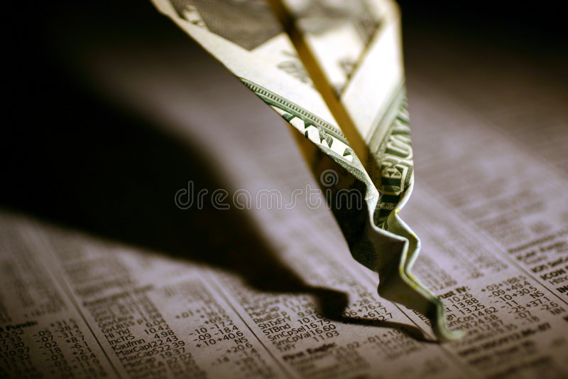 crash rynku zasobów obrazy royalty free