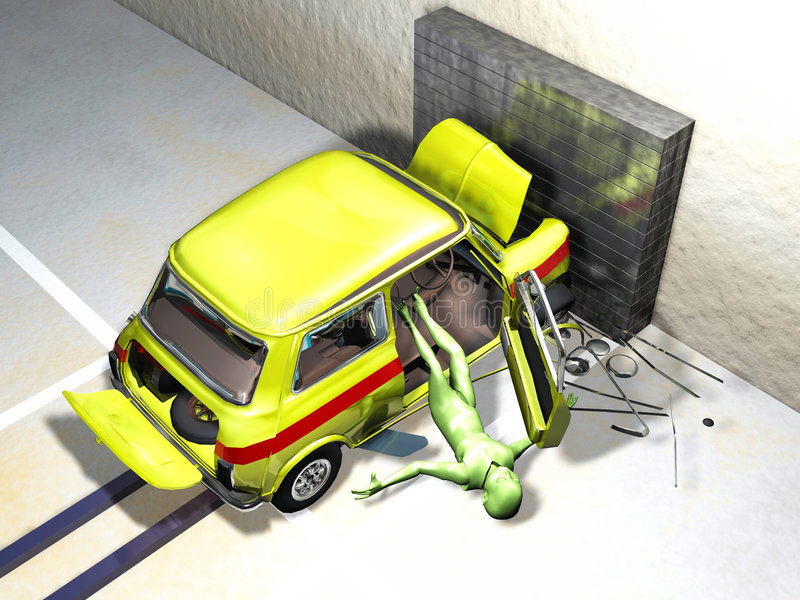 Download Crash Test stock illustration. Image of closeup, system - 8452639
