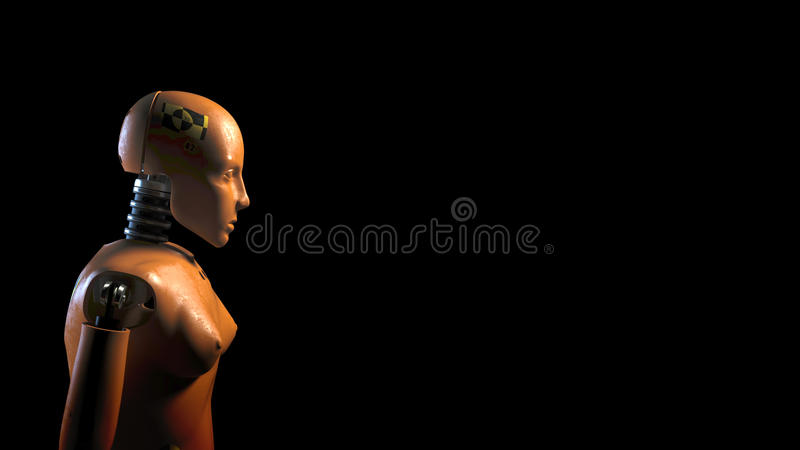 Crash test dummy. Isolated. 3D render vector illustration