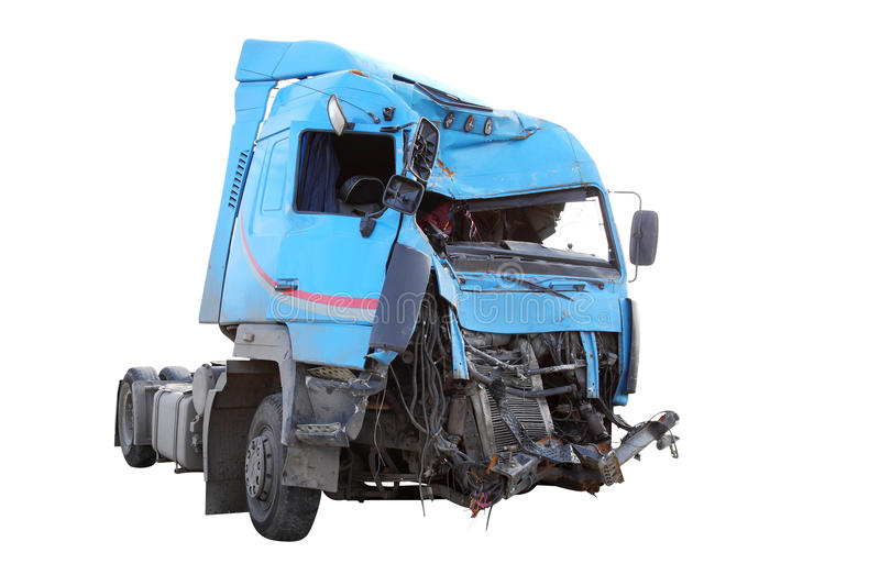 Crash truck stock photos