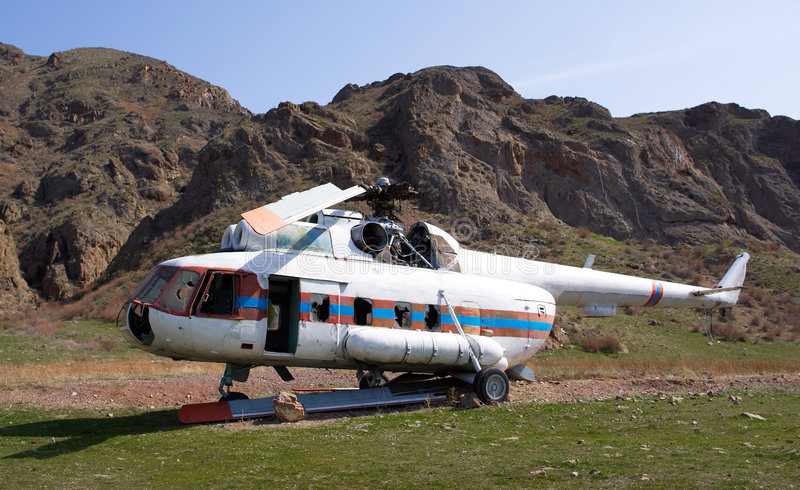 Download Crashed Helicopter Stock Images - Image: 7476824