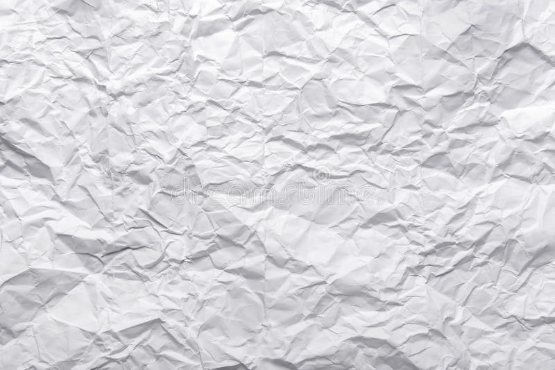 Crashed paper texture stock photography