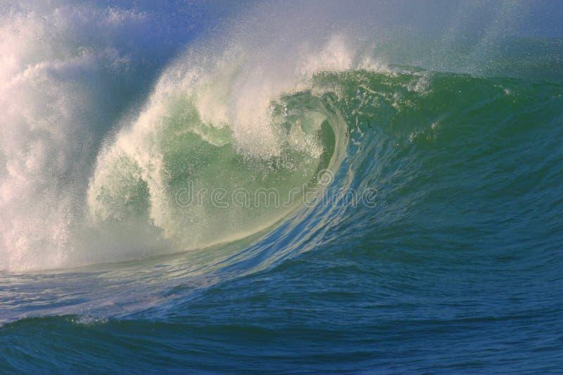 Crashing Surf Wave stock images