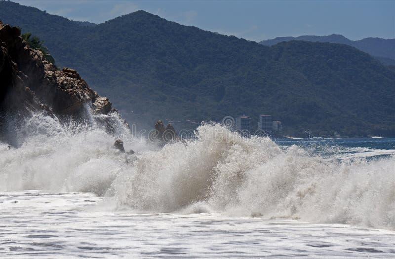 Download Crashing Waves stock image. Image of cliff, stormy, crashing - 42071739
