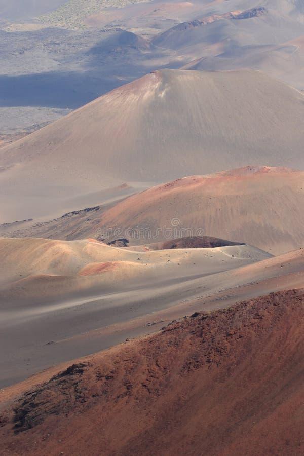 Cratère de Haleakala photo stock