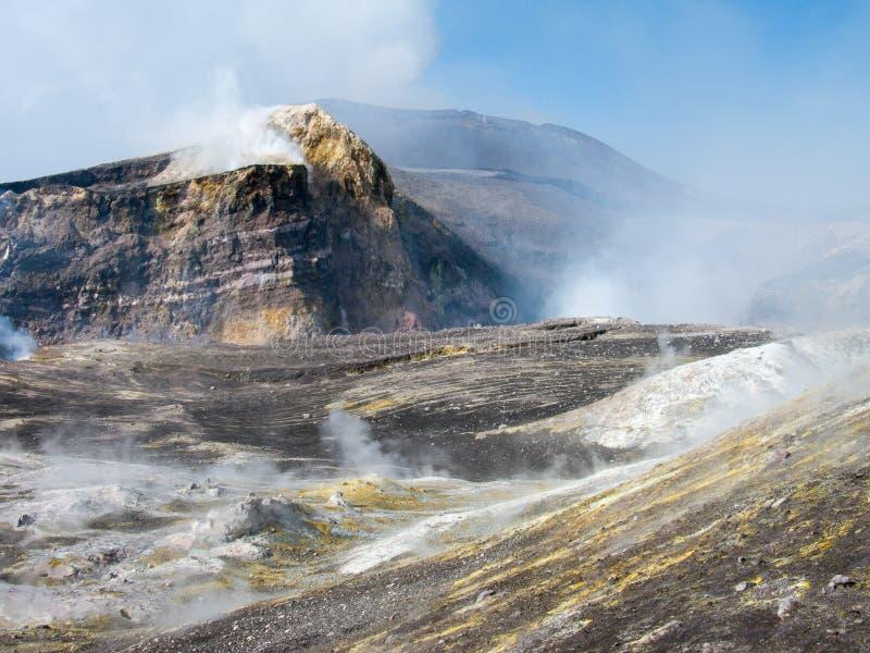 Cratères de l'Etna photographie stock libre de droits