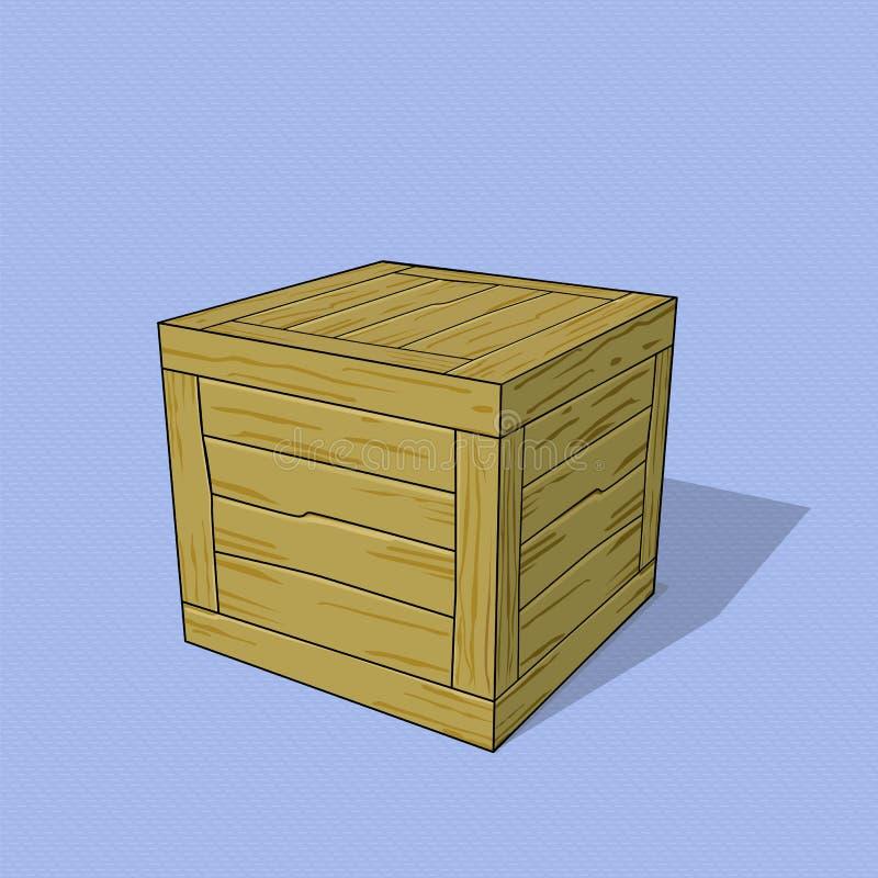 crate ilustração do vetor