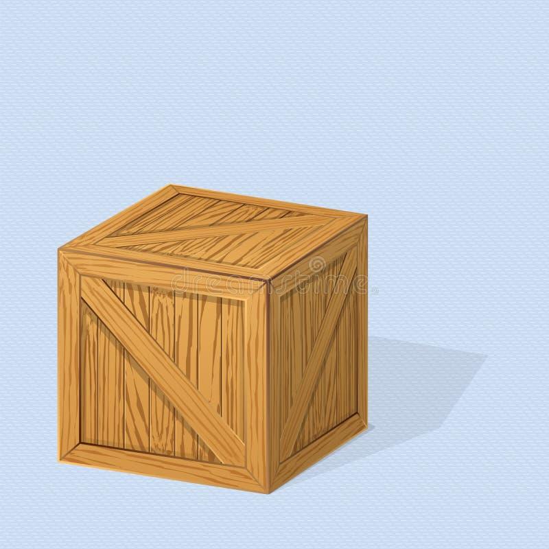 crate ilustração royalty free