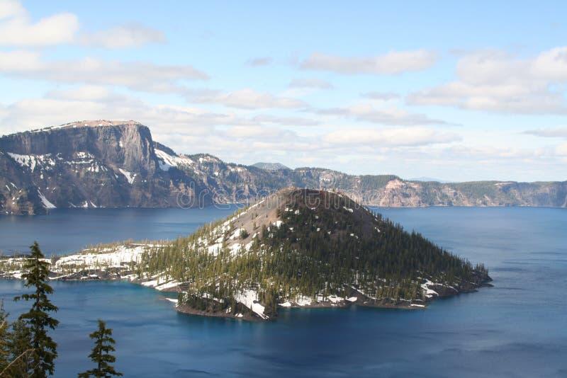 Crater湖国家公园 免版税库存照片