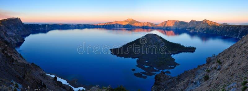 Crater湖,俄勒冈 库存照片