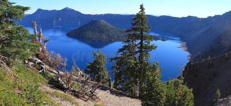 Crater湖 免版税图库摄影