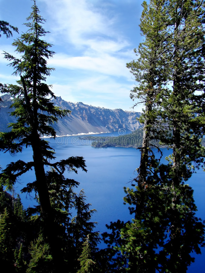 Download Crater Lake stock photo. Image of nature, mountain, lake - 2839666