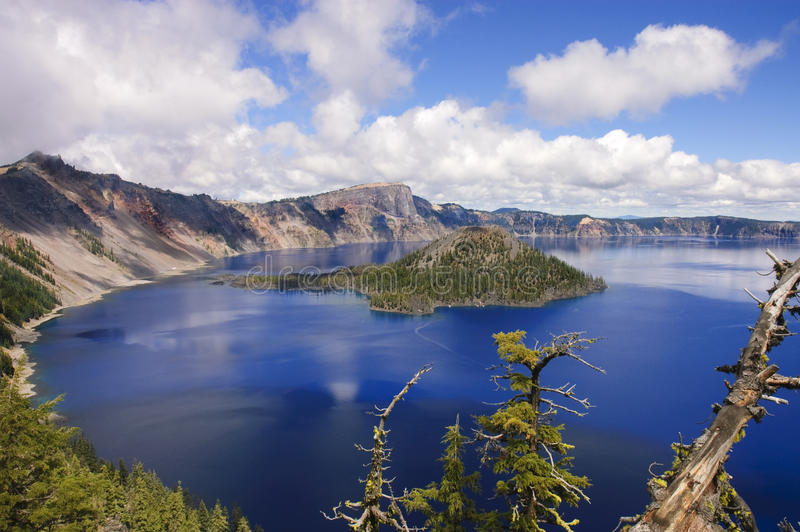 Crater Lake, Oregon royalty free stock photography