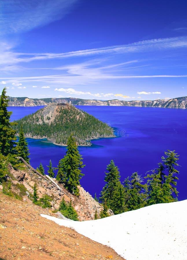 Crater Lake. Oregon& x27;s Crater Lake stock photo