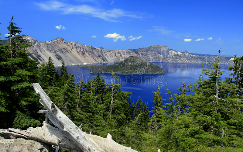 Crater Lake. In Oregon, US royalty free stock photography