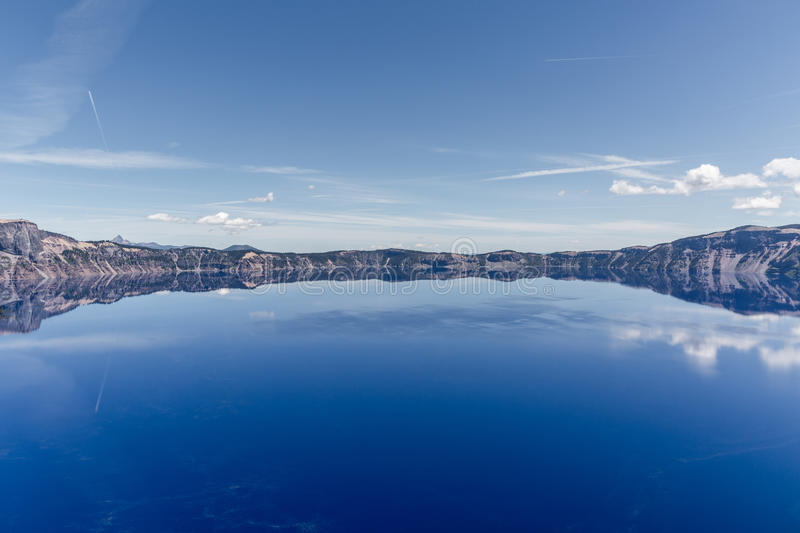 Crater Lake. View of Crater Lake, Oregon stock photography